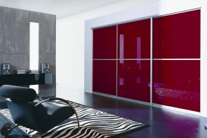 4 Sliding Doors Buil In Wardrobe Design