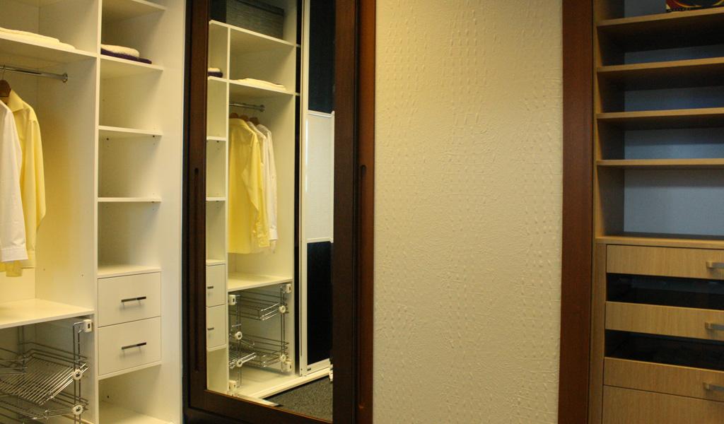 Bespoke Walk In Wardrobe Design