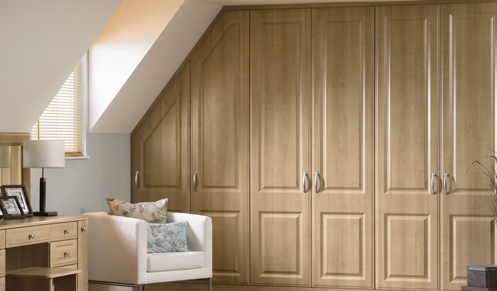 Loft Fitted Bedroom Wardrobe Design