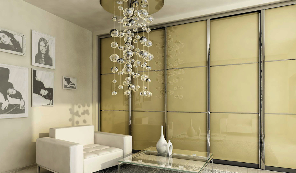 Polished Frame Sliding Doors Design