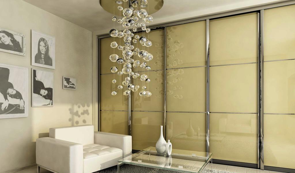 Polished Frame Sliding Doors Design