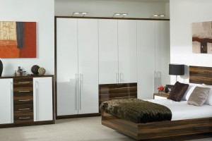 White Fitted Berdoom Furniture Design