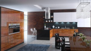 High Gloss Kitchen - What is fitted kitchen?