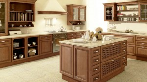 Traditional Brown Kitchen - What is fitted kitchen?